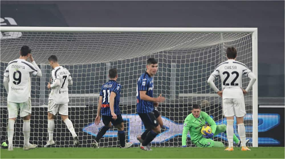 Juventus vs Atalanta: Ronaldo misses penalty as reigning Serie A champions forced to 1-1 draw