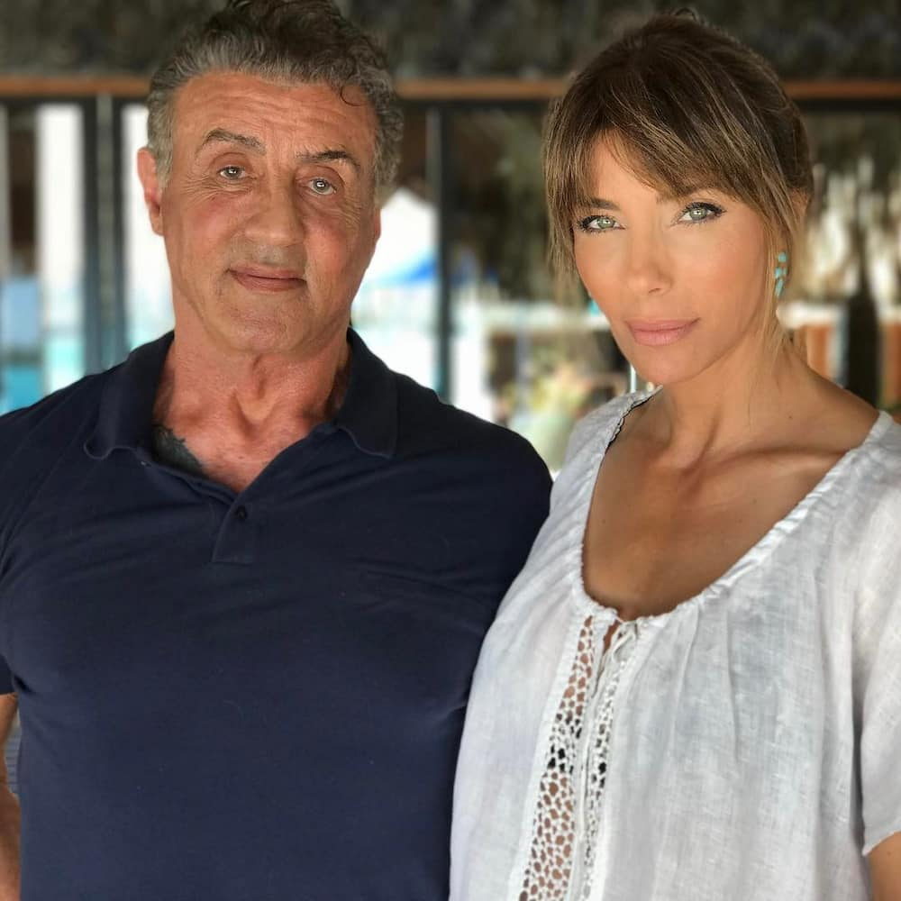 stallone wife