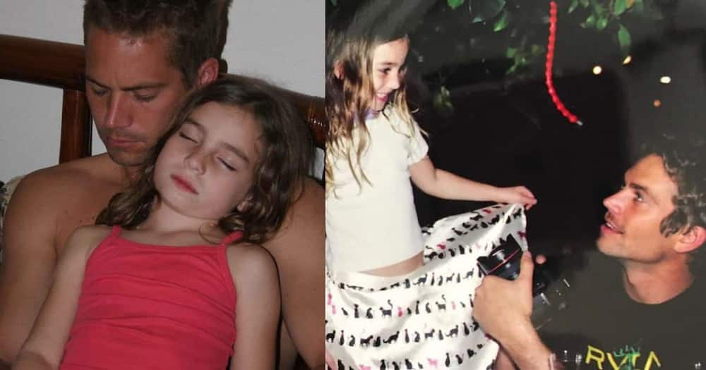 Lovely throwback snaps of Paul Walker and daughter Meadow.