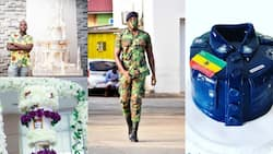 Corporal Amenyo: Meet the military officer who creates incredible cake designs