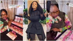 BBNaija's Jackie B throws exclusive surprise birthday dinner for mum, splashes her with N5 million cash gift