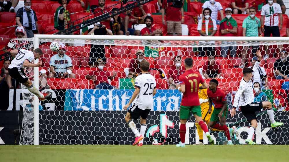 Atalanta star Robin Gosens' stunner against Portugal in the ongoing Euro 2020