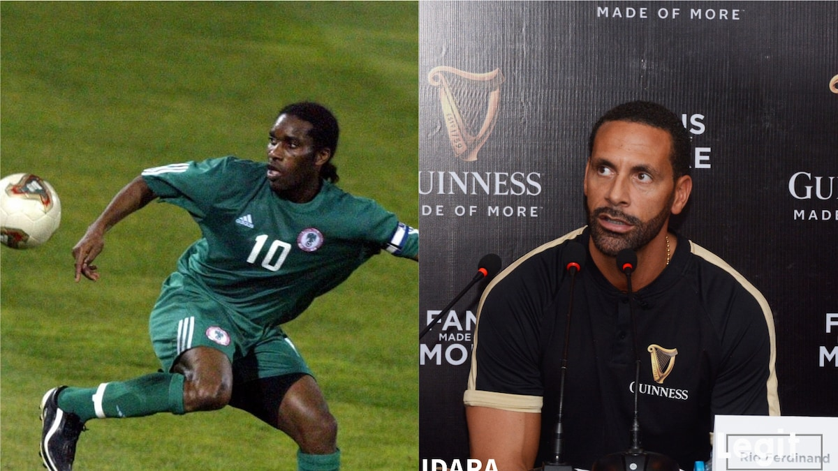 Rio Ferdinand reveals how he watched videos of Okocha in PSG to improve himself