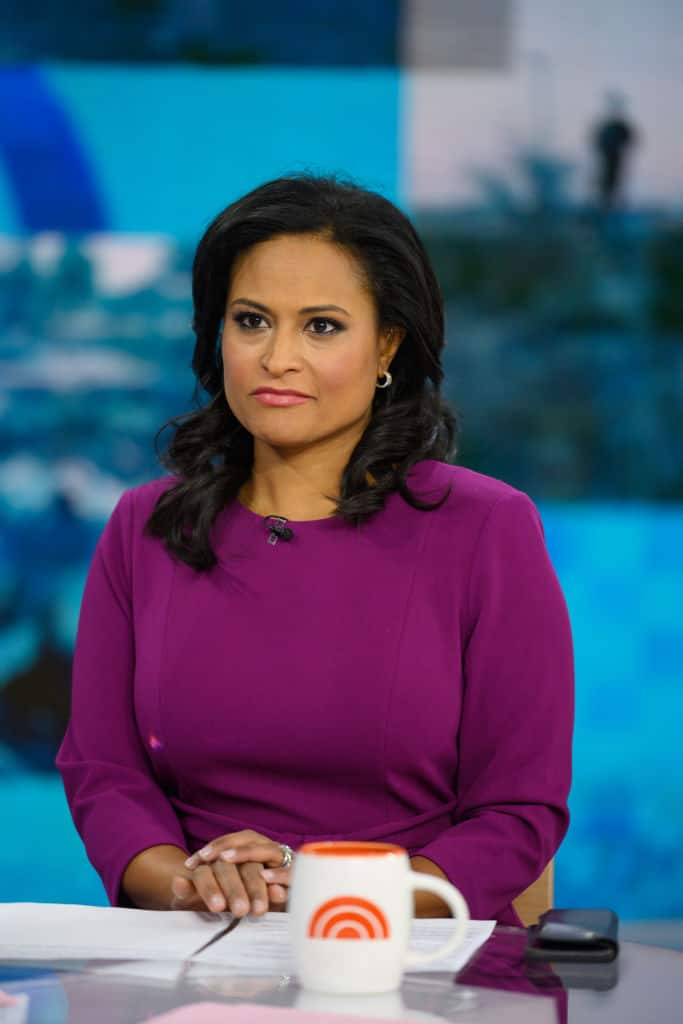 NBC reporter Kristen Welker