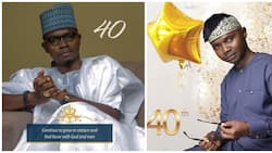 My life is just starting - Famous comedian says as he celebrates 40th birthday (photos)