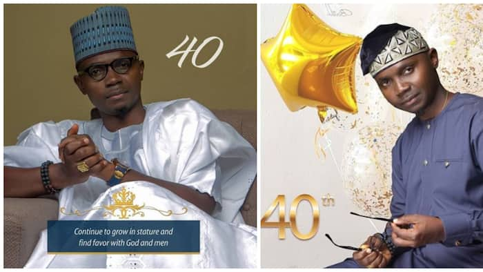 Talented comedian Teju Babyface turns 40, shares lovely photos on Instagram