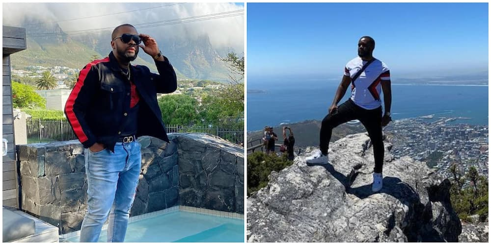 Comedian Williams Uchemba pens sad message about the state of Nigeria as he vacations in South Africa
