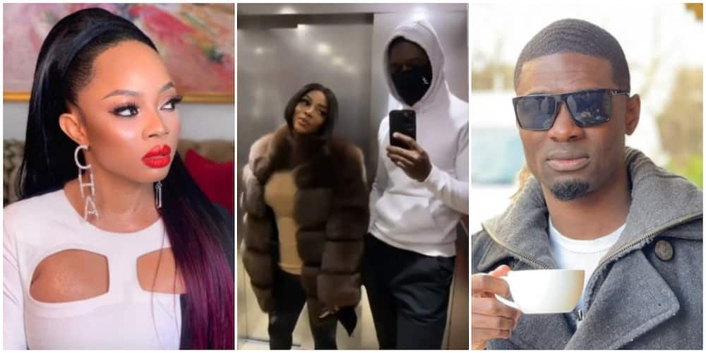 Toke Makinwa shows off her alleged new man Tuoyo, leaves fans excited