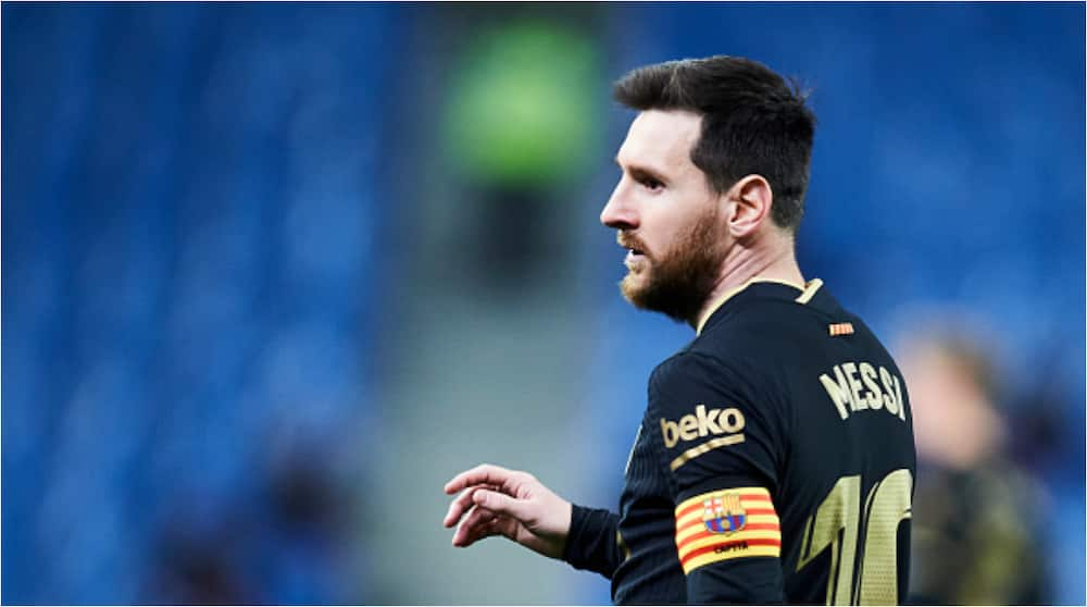 Desperate Barcelona manager Ronald Koeman gives update on Lionel Messi's future