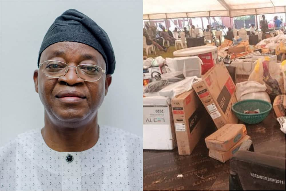 Looting: Oyetola hands over recovered items to owners in Osun