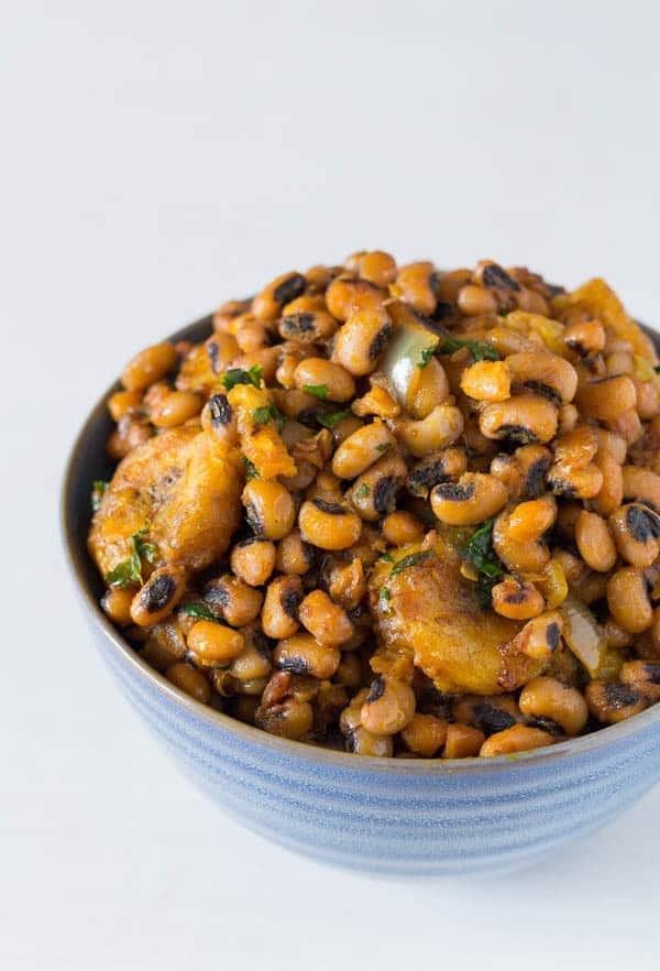 How to cook porridge beans with ripe plantain