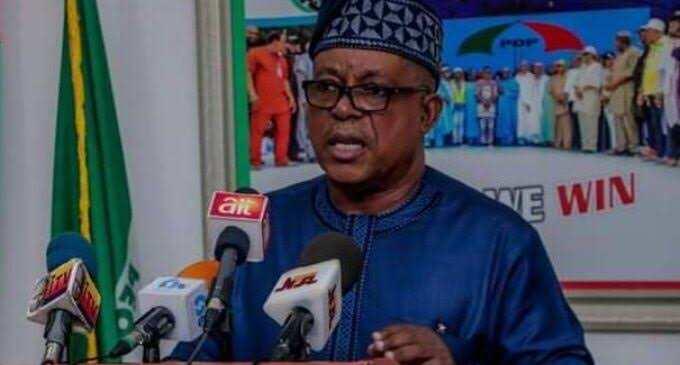 Shugaban PDP na kasa, Prince Uche Secondus