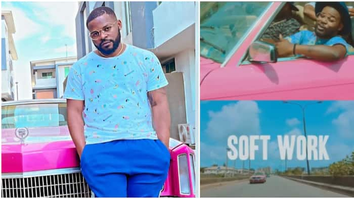 Falz celebrates 5th anniversary of his 2016 hit single Soft Work, fans hail rapper for making a 'jam'