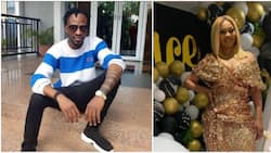 Nigerian singer 9ice celebrates 1st wedding anniversary with his lovely wife (photo)
