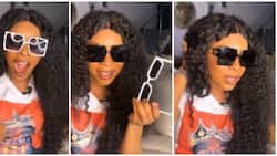 Keeping it real: Fashionista Laura Ikeji shows N1500 sunshades, compares it with original version of N220k