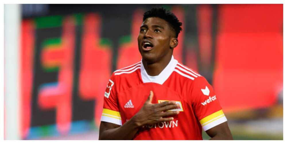 Taiwo Awoniyi scores 4th Bundesliga goal in Union Berlin's win over Dortmund