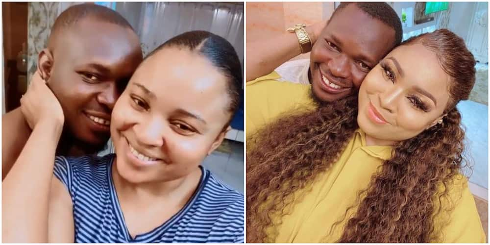 Actress Abimbola Ogunnowo celebrates hubby Okiki Afolayan with sweet words on his birthday