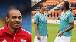 Odemwingie reveals another big secret about Kanu Nwankwo's wife, sends strong message to the Arsenal legend