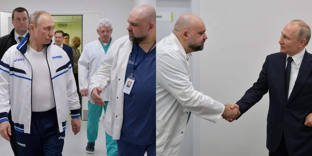 COVID-19: Fear as Russian doctor is infected days after he met President Putin