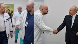 Anxiety as doctor who led Russian president Putin on inspection of COVID-19 hospital gets infected (see photos, video)