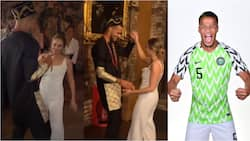 Iheanacho, Ndidi, Balogun in attendance as Super Eagles star marries long-term partner in private London ceremony