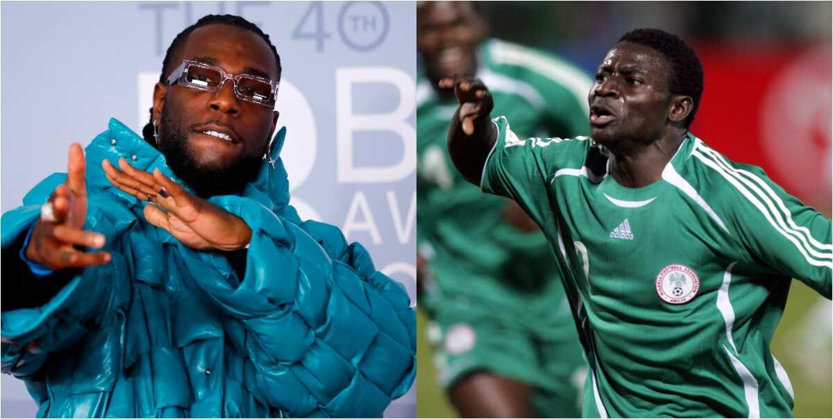 Super Eagles legend Obafemi Martins finally reveals what happened between him and Burna Boy at Bayrock club