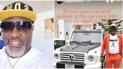Car dealer continues to call out Dino Melaye, claims he owes N14.5m balance for a Mercedes Benz since 2019