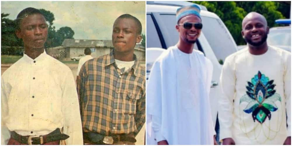 Comedian I Go Dye Shares Epic 1995 Throwback Photo with Best Friend I Go Save, Recounts Their Journey to Fame