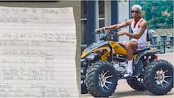 Little boy's list of items to mum to celebrate school vacation goes viral, popular artiste promises to perform