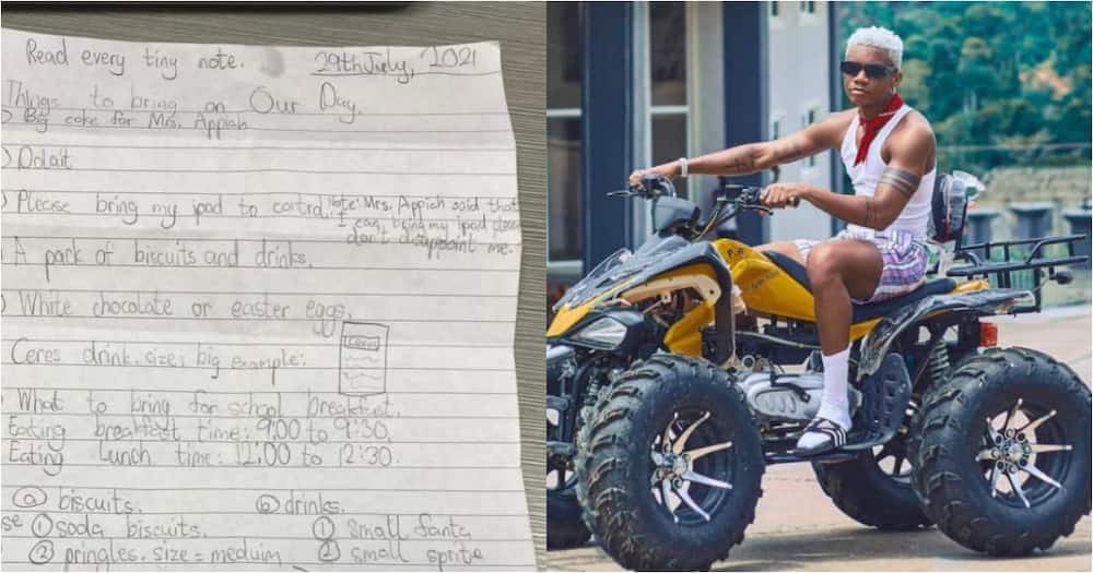 Many have reacted to a young boy's letter to his mother