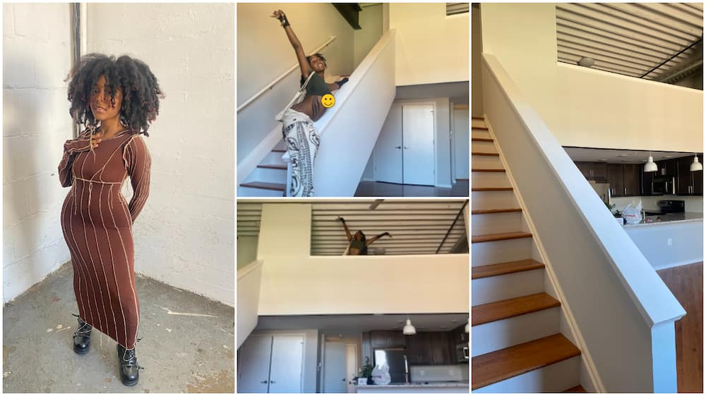 19-year-old lady buys her first house in America, shares photos of new building