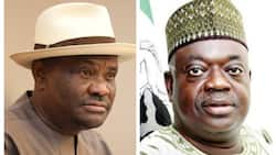 Massive reactions as video of Wike threatening to flog ex-governor surfaces online