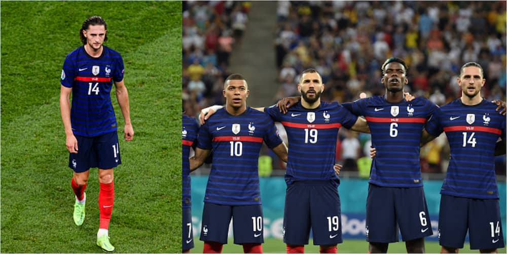 Chaos as Families Of French Players Clash Following France's defeat to Switzerland at Euro 2020