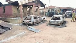Death toll in Oyo massacre rises to 45, as gunmen burn 60 houses, destroy over 160 vehicles
