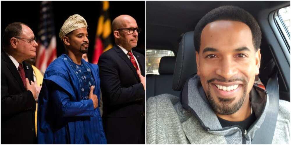 Will Jawando: Nigerian man in US reveals why he wore agbada to inauguration