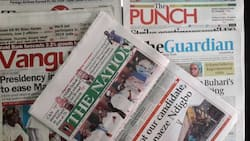 Newspaper review: I will win 2019 election - Buhari boasts as APC governors skip presidential campaign council meeting