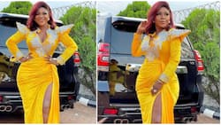 Red carpet inspo: Destiny Etiko rocks N30k dress for movie role, it took 48 hours to create