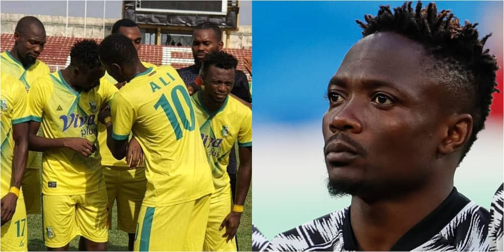 Kano Pillars captain shows undeniable respect for Super Eagles star Ahmed Musa on league debut