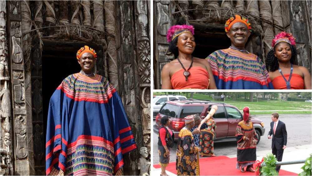 Hotuna: Labarin Sarki Abumbi na nahiyar Afrika dake da mata 100 da 'ya'ya 500