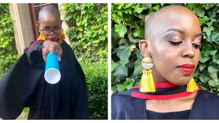Pretty South African medicine and surgery graduate rejoice as she finally graduates from school (photos)