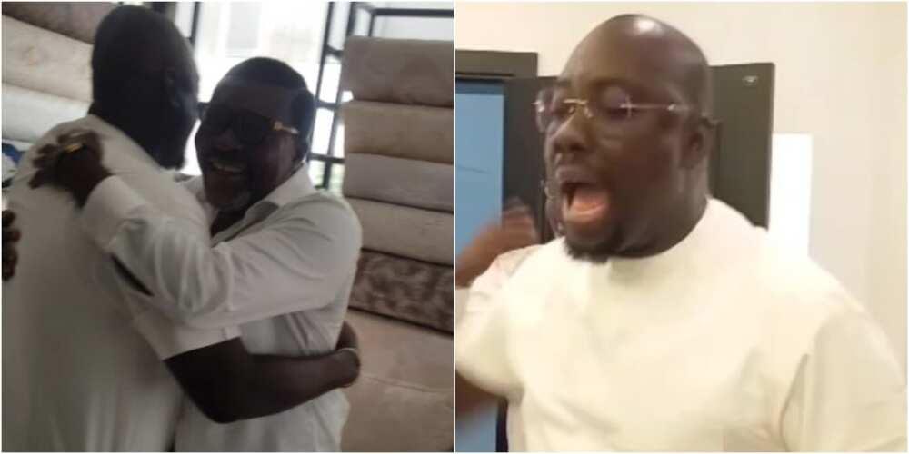 Obi Cubana and Kanayo O Kanayo