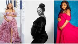 Adesua Etomi, Regina Daniels, 5 other Nigerian celebrities with gorgeous maternity photos