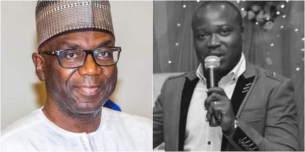 Kwara State Governor and the only male MC with a PhD