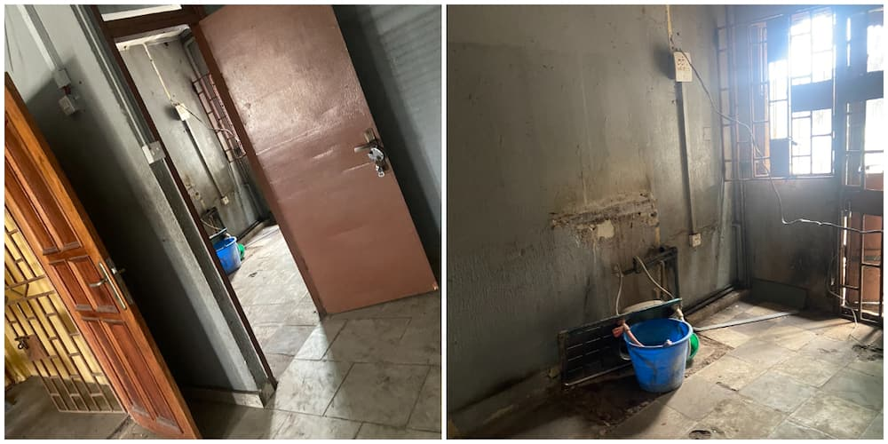 Nigerians react to photos of an apartment that costs N1.3m, many say the place is disgusting for that amount