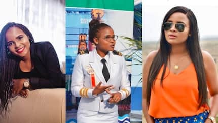 16 amazing pictures of Kenya's first female marine pilot with beauty and brains