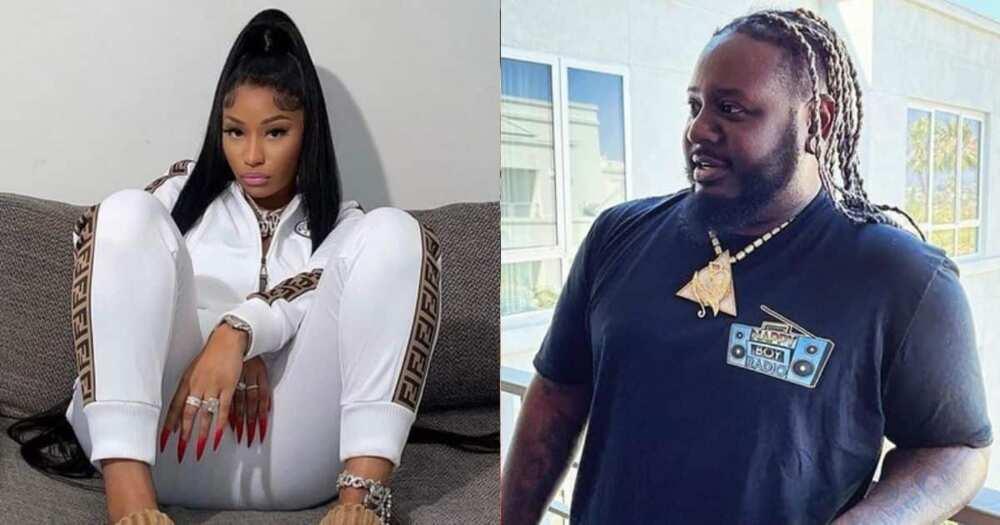 T Pain, Nicki Minaj, rejected his collaboration