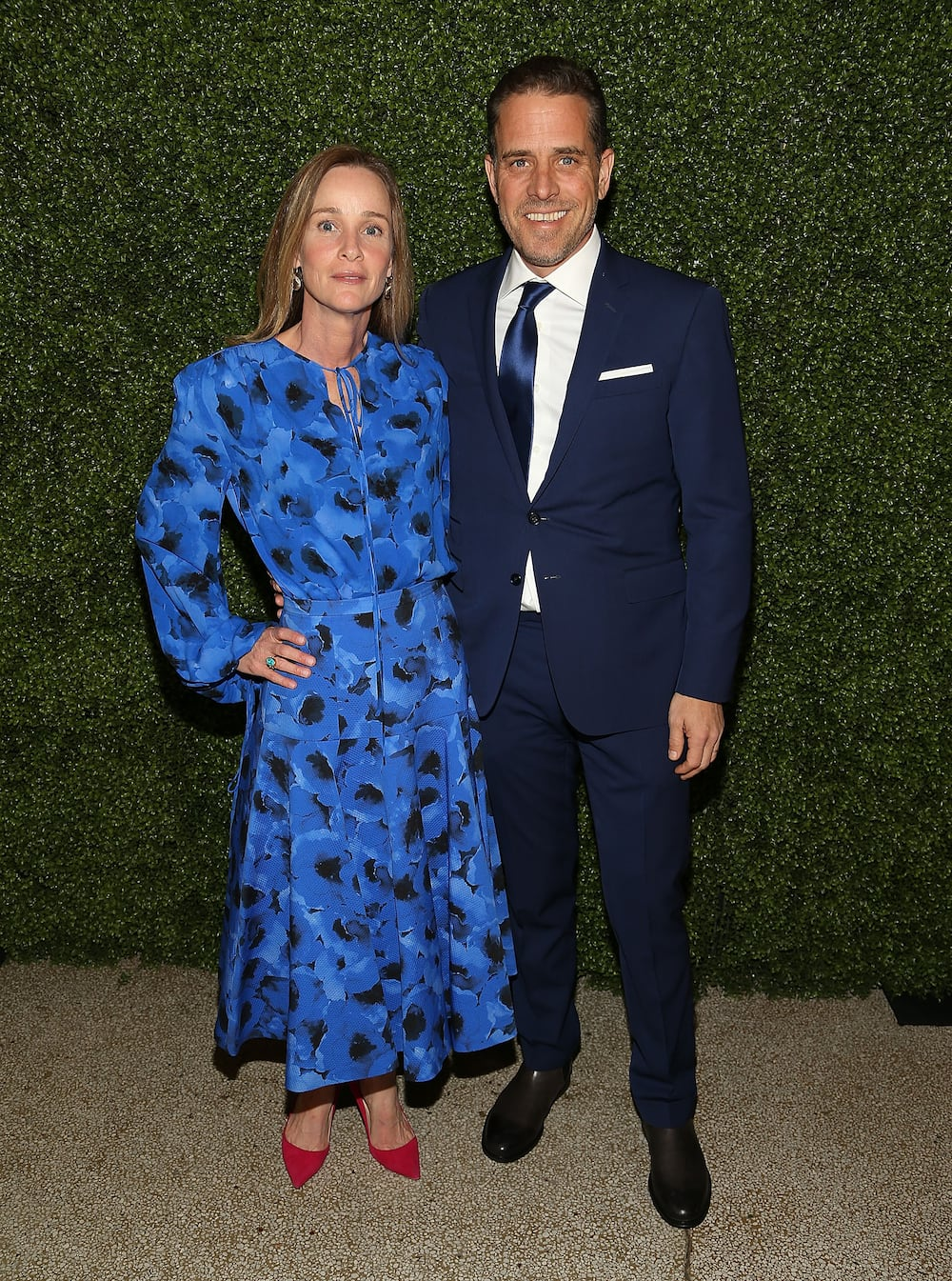 Hunter Biden and his wife