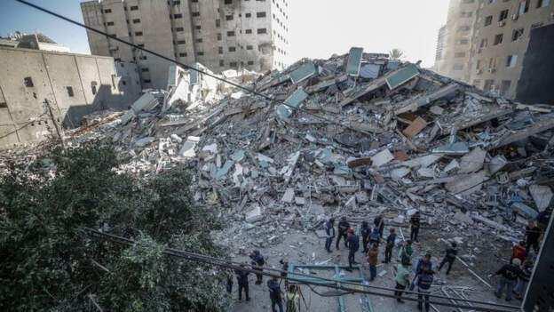 Isra'ila Ta Yi Kaca-kaca da Gidan Jagoran Hamas a Yankin Zirin Gaza