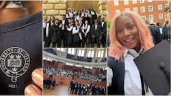 DJ Cuppy excited, shares photos as she finally matriculates at prestigious Oxford University