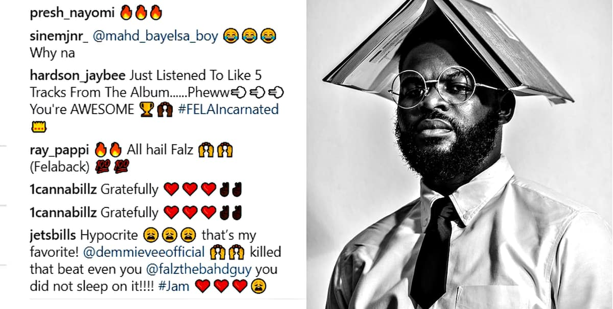 Falz - Moral Instruction: songs, videos, reactions ▷ Legit ng